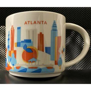 2015 STARBUCKS You Are Here - Coffee Tea Mug Cup S